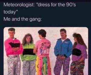 dress for the 90s