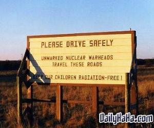 Notice Children Radiation Free