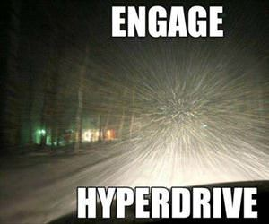 driving in the winter time