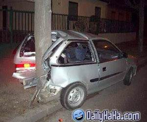 Driving backwards accident