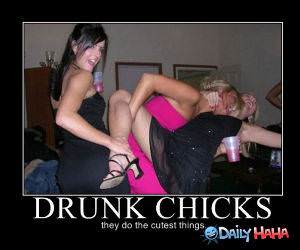 Drunk Chicks funny picture