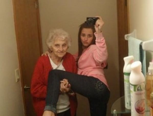 Grandma Hold This funny picture