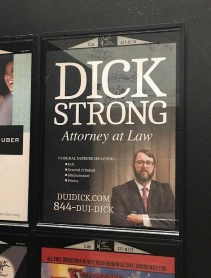 dui dick at your service