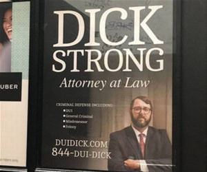 dui dick at your service funny picture