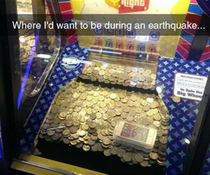 during an earthquake funny picture