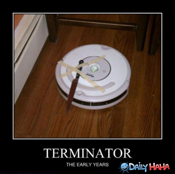 Early Terminator funny picture