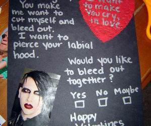 Emo Love Letter