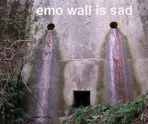 Emo Wall is Sad