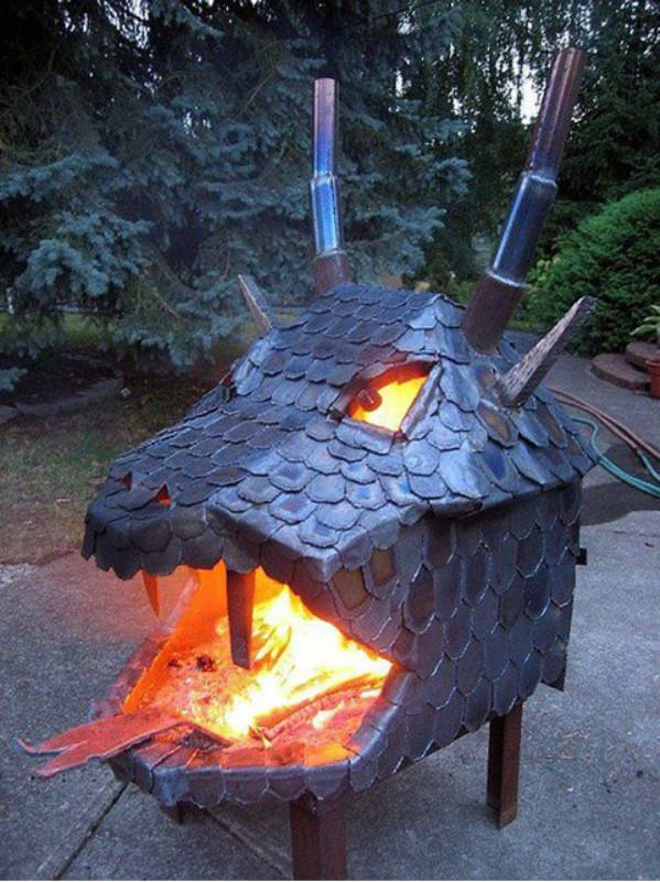 Epic Fire Pit funny picture