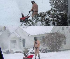 epic snowblowing funny picture