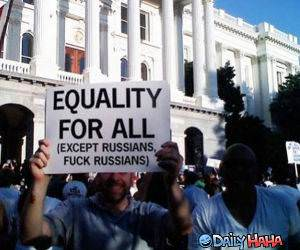 Equality For All funny picture