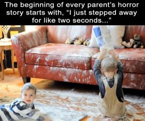 every parents horror story funny picture