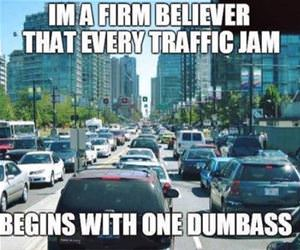 every traffic jam funny picture