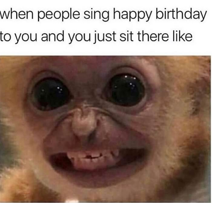 everyone singing happy birthday
