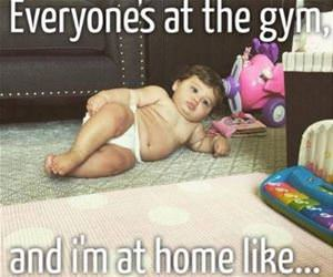 everyones at the gym funny picture