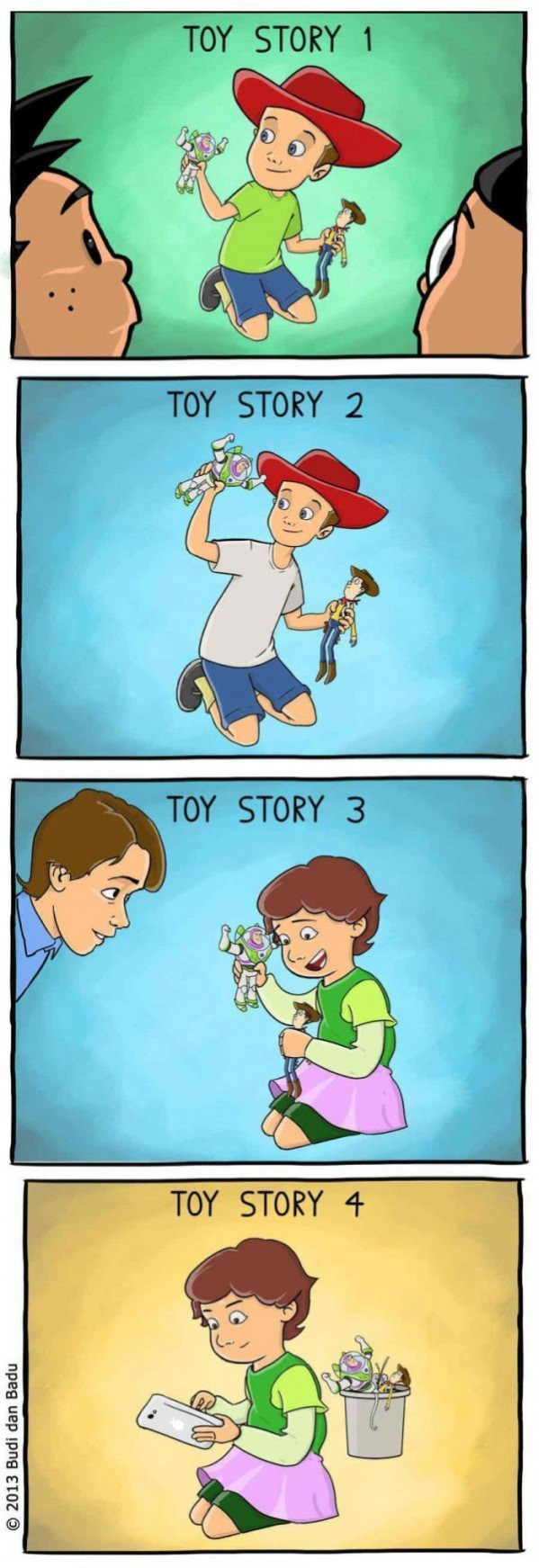 Toy Story Childhood Ruined Toy Story