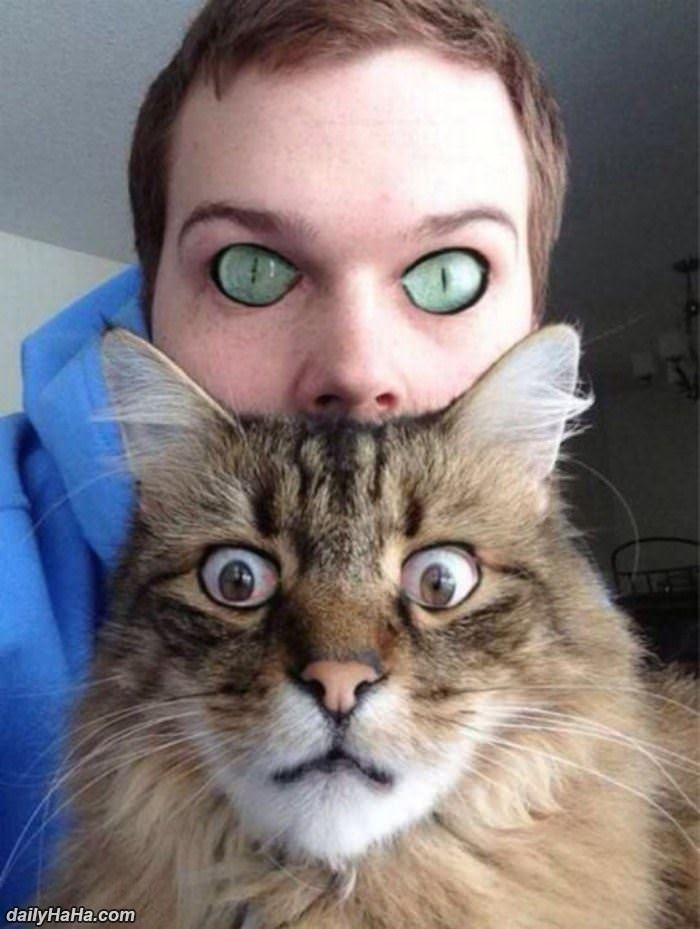 eye swap funny picture