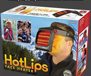 face warmer funny picture