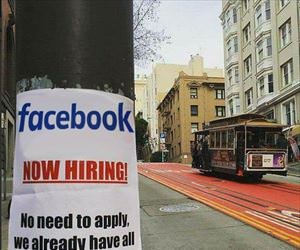 facebook is now hiring