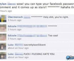 Facebook Password funny picture