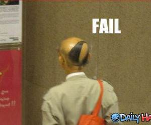 Hair Fail funny picture