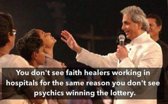 faith healers funny picture