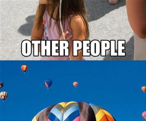 fart a balloon of gas funny picture