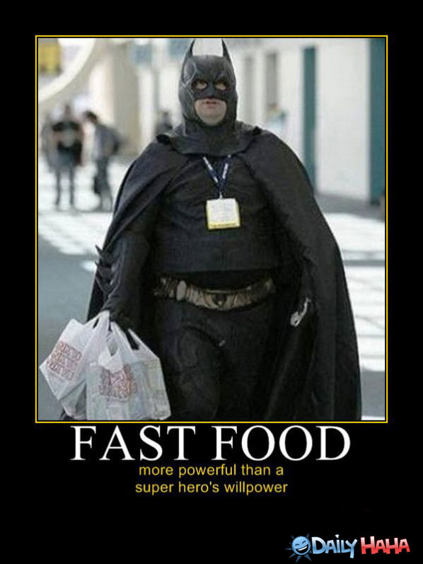 Powerfull Fast Food funny picture