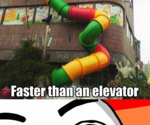 Faster Then An Elevators funny picture