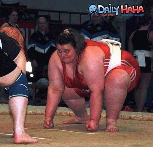 Fat Sumo Woman