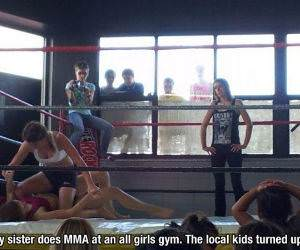 Female MMA funny picture