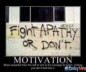 Fight Apathy funny picture