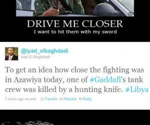 Fighting in Libya funny picture