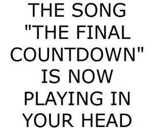 Final Countdown funny picture