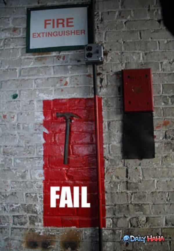 Fire Extinguisher Failure