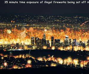 fireworks in LA