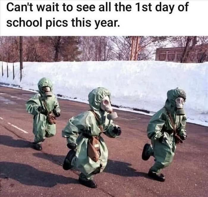 first day of school ... 2