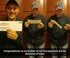 first paycheck funny picture