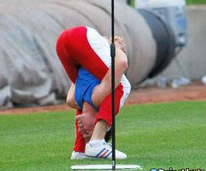 Flexible Golf Stretch funny picture