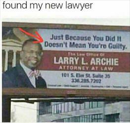 found the perfect lawyer