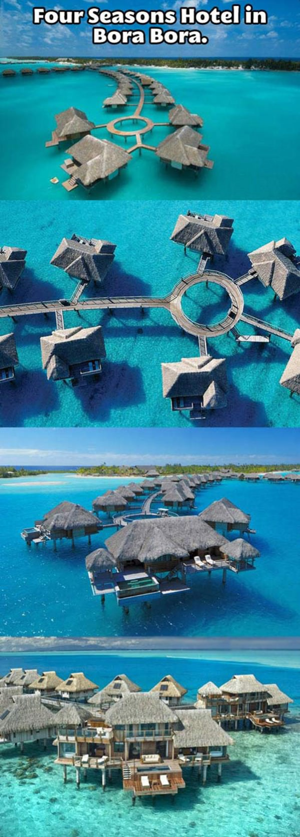 Four Seasons Bora Bora funny picture