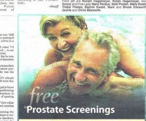 Free Prostate Screenings funny picture