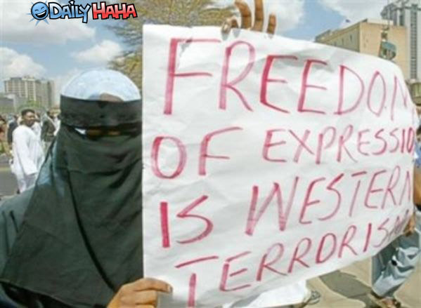 Freedom Terrorists Sign