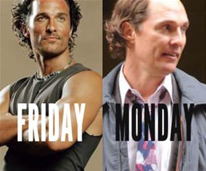 friday vs monday funny picture