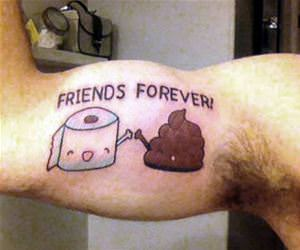friends forever funny picture