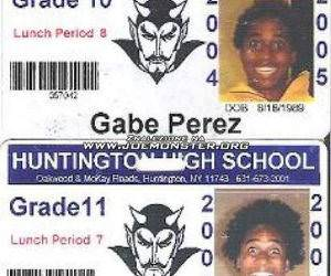 Gabe Perez Highschool ID