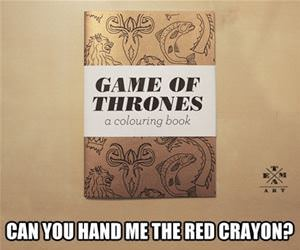 game of thrones coloring book funny picture