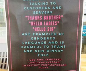 gendered language funny picture