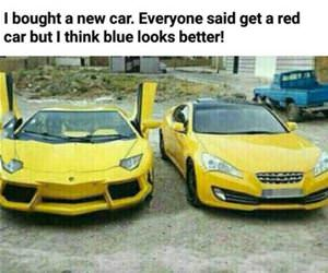 get a red one they said funny picture