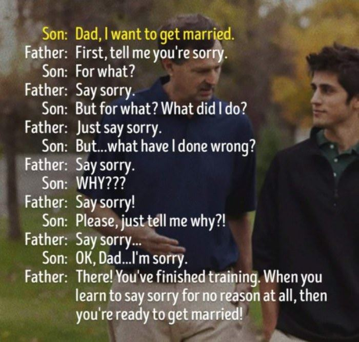 Funny Memes For Your Dad : Getting married dad